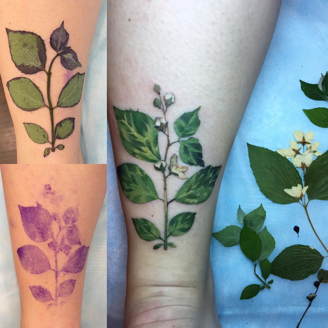 Jasmine tattoo