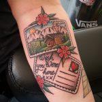 Love letters tattoo