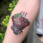 Lunch tattoo