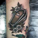 No rest tattoo