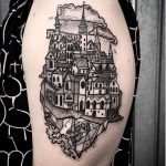 Oldtown tattoo on the arm
