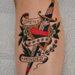 Open minded tattoo