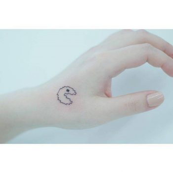 Pacman tattoo
