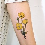 Polar poppies tattoo