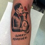Sorry forever tattoo