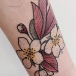 Spring blooms tattoo