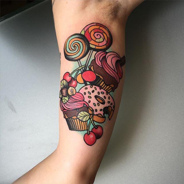 Sweets tattoo