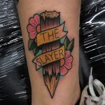 The slayer tattoo
