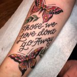 Those we love don't go away tattoo