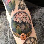 Twin peaks tattoo
