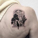 Window tattoo