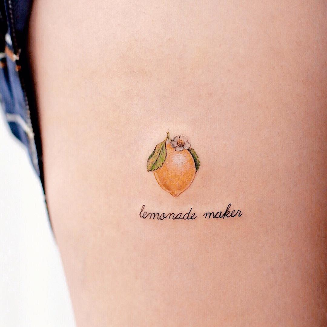 Lemonade maker tattoo