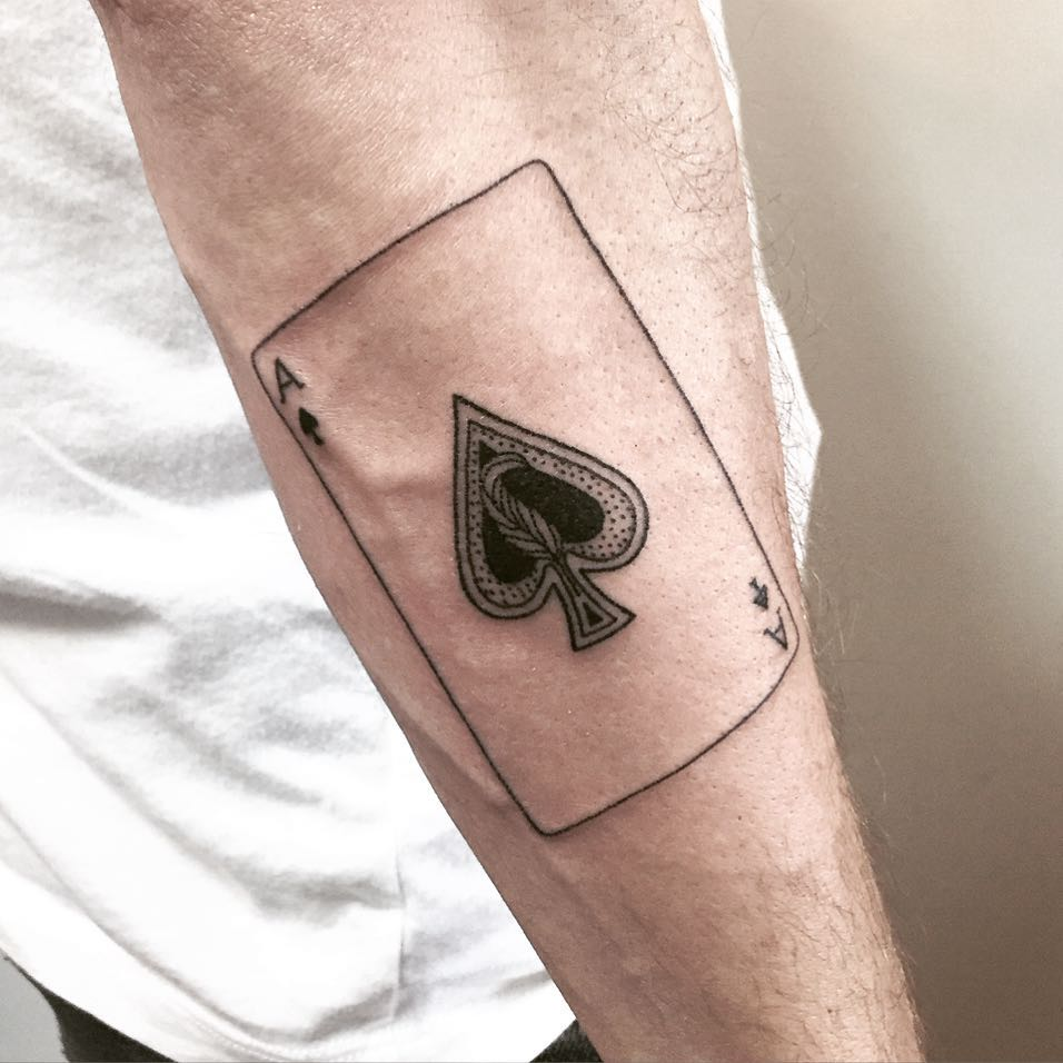 Ace Of Spades Tattoo