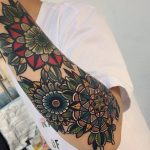 Beautiful flower tattoos by mico tattoo