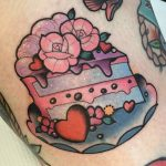 Cake tattoo by lya leister