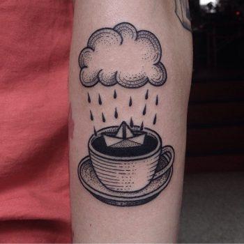 Clouds over a cup by susanne könig
