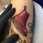 Doc martens shoe tattoo
