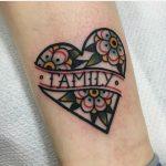 Family tattoo by jeroen van dijk