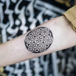 Flower of life tattoo by dogma noir