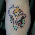 Hungry homer tattoo