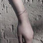 Infinity bracelet tattoo