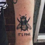 It's fine tattoo