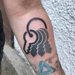 Key bunch tattoo by mattia mambo