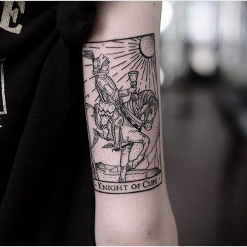 Knight of cups tattoo