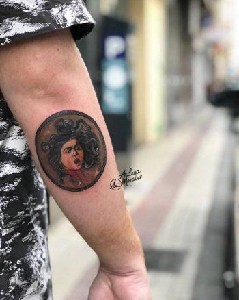 Medusa tattoo by caravaggio