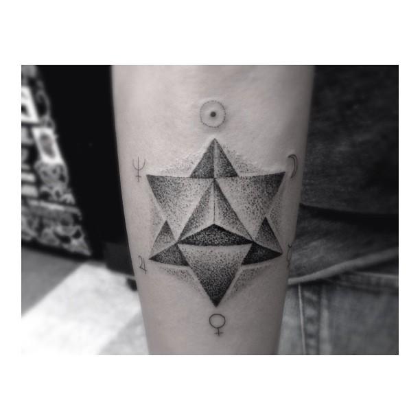 Merkaba tattoo