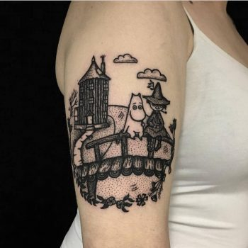 Moomins tattoo