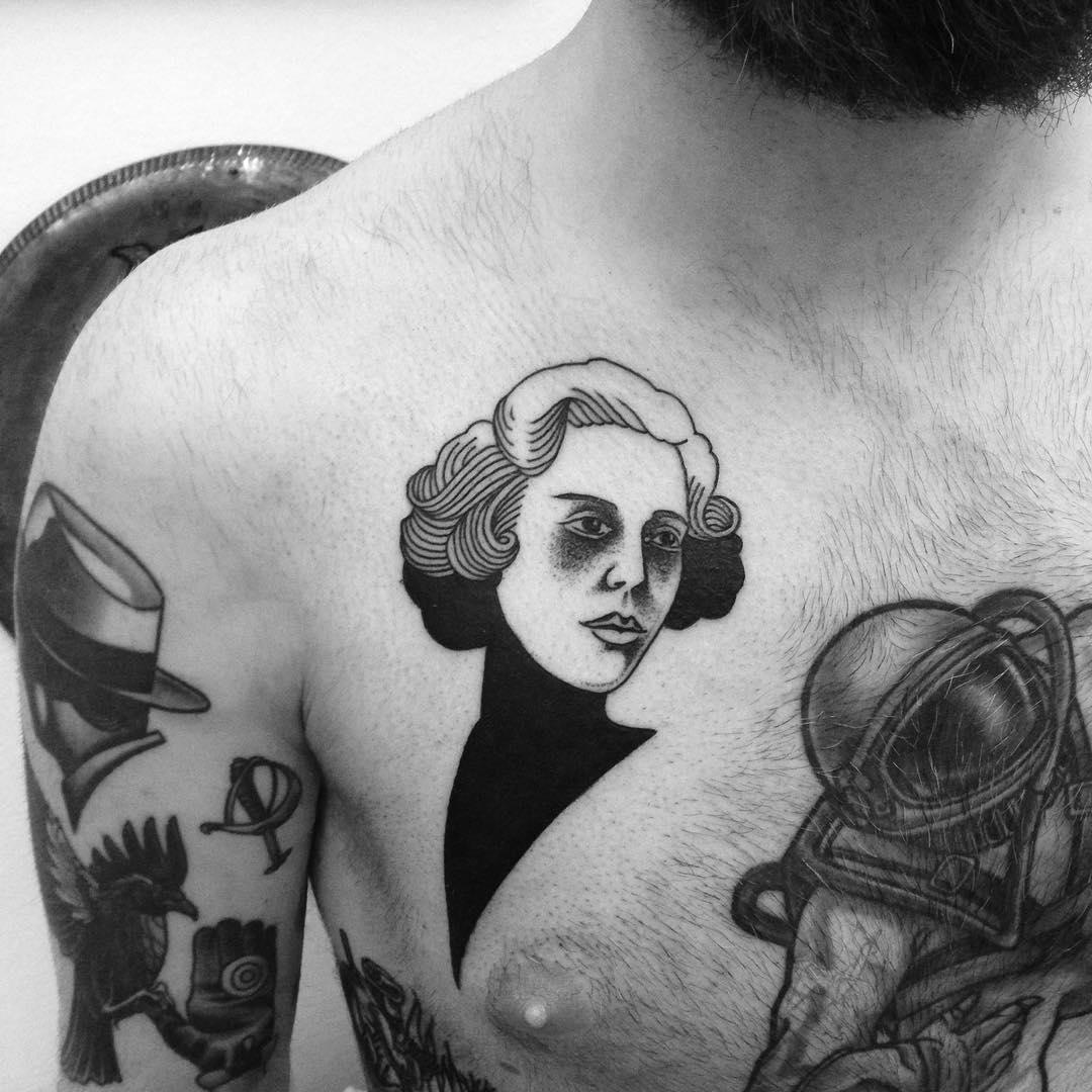 Mrs. lovett tattoo