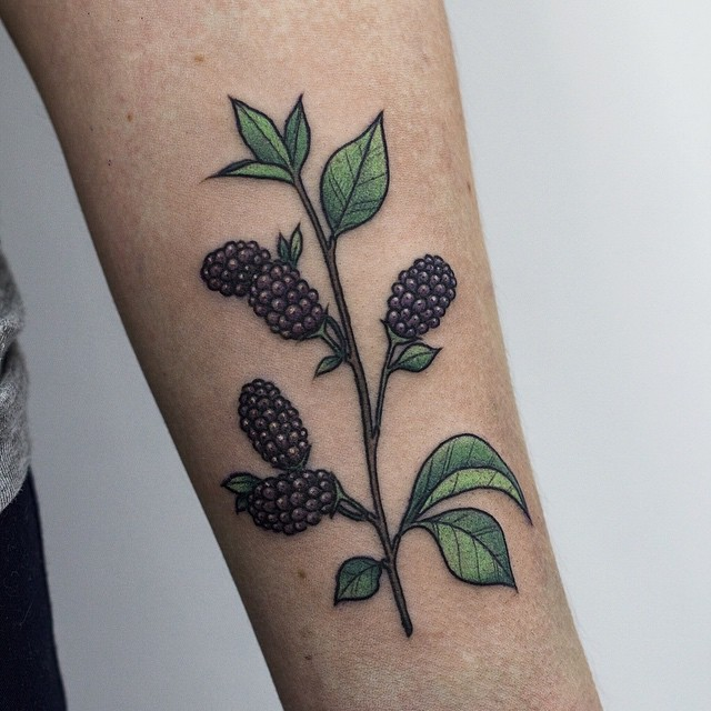 Mulberry tattoo