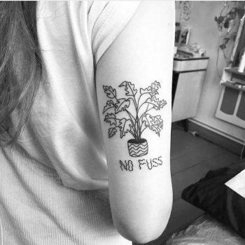 No fuss tattoo
