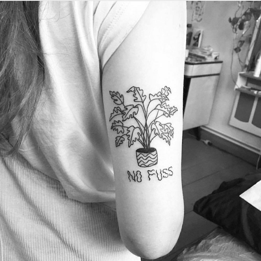 No Fuss Tattoo Tattoogridnet