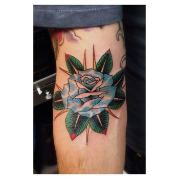 Rose in the ditch tattoo