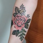 Rose tattoo by roald