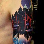 Sleeve tattoo by marcin alexander surowiec