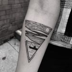 The old man and the sea triangular tattoo