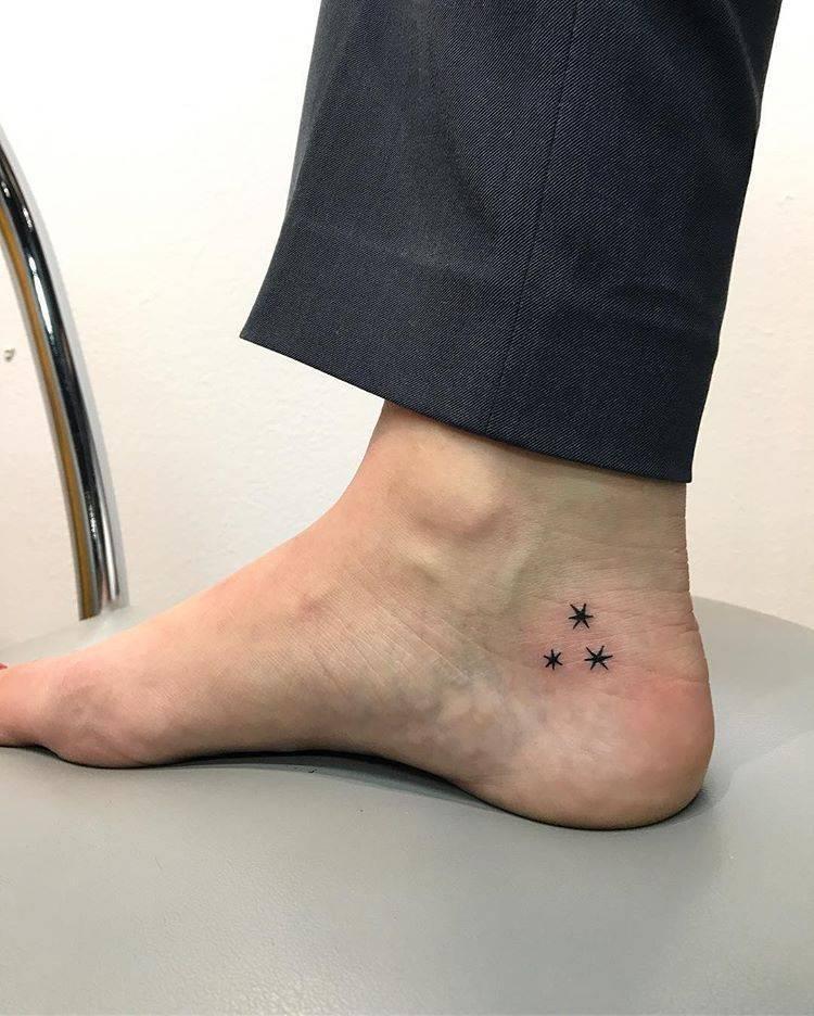 Three stars tattoo