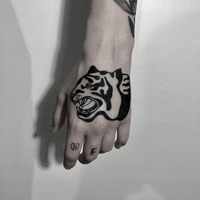 Tiger tattoo by berkin dönmez