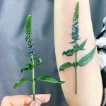 Veronica flower tattoo