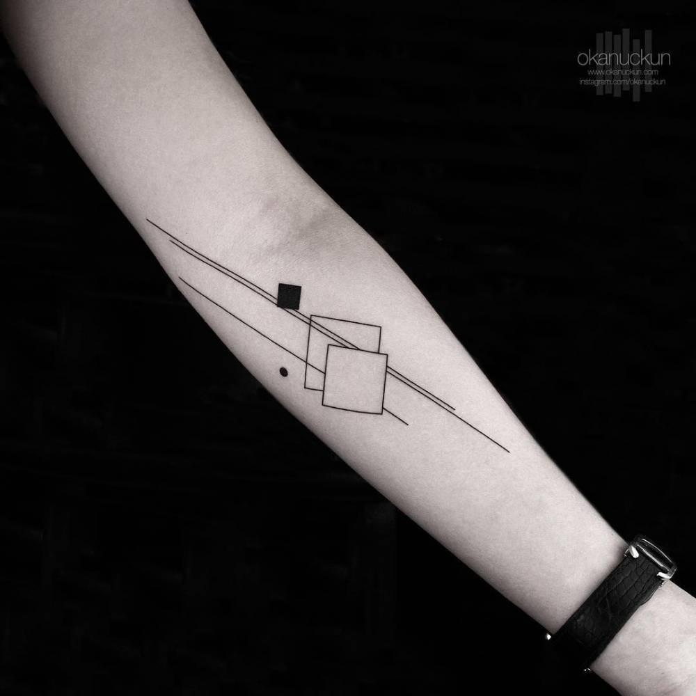Abstract geometry by okan uçkun