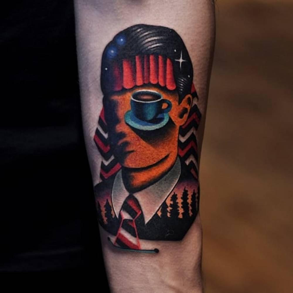 Agent cooper tattoo