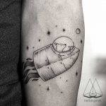 Astronaut dog by mentat gamze
