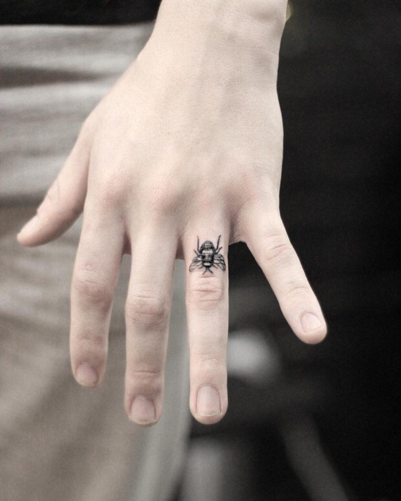 Bee tattoo by alex