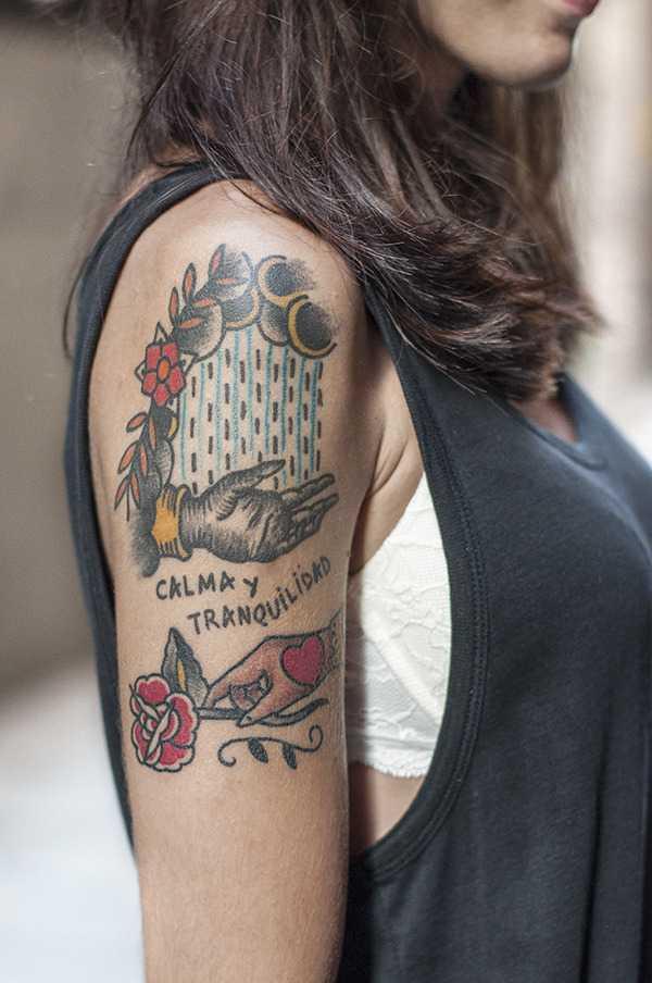 Calma y tranquilidad tattoo