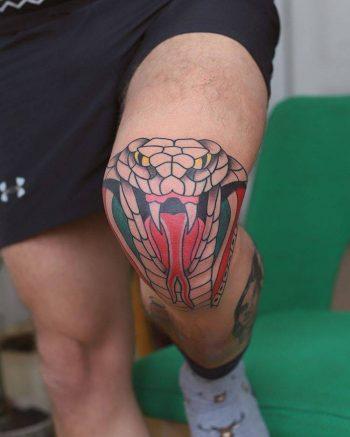 Cobra tattoo by patryk hilton