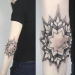 Elbow mandala by unkle gregory