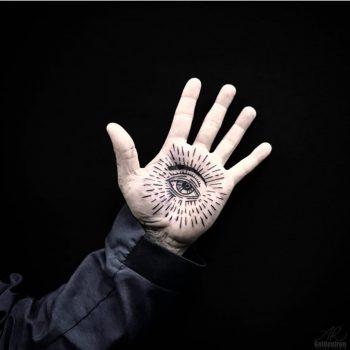 Eye tattoo by alex